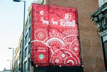 Red Cup Murals / Inspired by your 2016 Red Cup designs, local artists created wall art to celebrate the return of the Red Cups