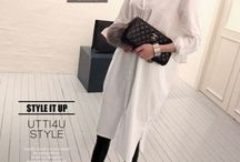 Fashion-long white shirts