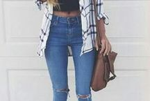 Cute outfit/ Fashion/ Nails