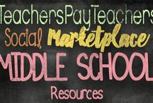 Middle School TpT Resources