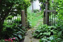 сад огород
