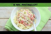 Voeding 7:PASTA's / Pasta's koud en warm.