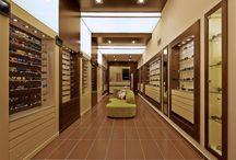 Καταστήματα οπτικών / Ανακαίνιση, διακόσμηση και εξοπλισμός καταστημάτων οπτικών.