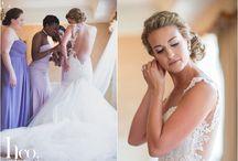 Getting Ready Wedding | Inspiration Board / Getting Ready | Bridesmaid Robes | Wedding Details | Wedding Decor | Wedding Shoes | Wedding Jewelry | Wedding Vows