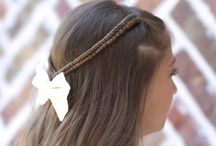 Braids / Little girl's hair