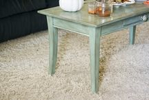 Coffee table makeover / by Els Oostveen