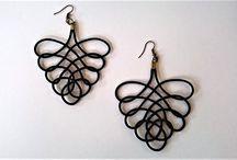 Paracord earrings