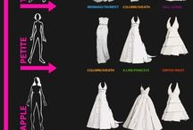 bridesmaid- which dress for your figure