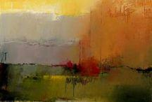 abstrait paysaged