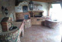 garden kitchen