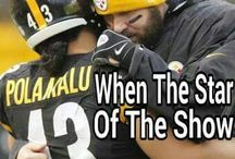 Troy / My Favorite Steeler Troy Polamalu. You are Missed.