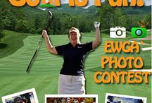 "Golf is Fun / Admit it - You love golf. No matter where you are - North, South, East or West it's fun. Whether you played at a local golf venue or took a trip to a wonderful golf destination there must be a picture that sums up what a great time you had. In celebration of golf season, we are having a ""Golf is Fun"" photo contest. For more information on contest http://bit.ly/19NN3xX / by EWGA"