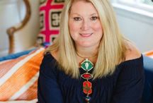 Holly Hollingsworth Phillips / Owner of The English Room in Charlotte, North Carolina, Holly is an interior designer and tastemaker, whose blog, The English Room, has become a daily must for many design-hungry followers. Known for her elegant, eclectic and colorful interiors with a penchant for contemporary art, she loves mixing the tradition of the past with the modern style of the future.