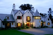 Inspired By Normandy / Luxury custom home built by Stokkers & Company in Lloyd Harbor, New York.