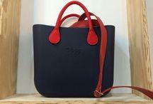 o bag - blue