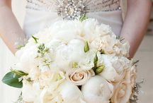 All That Glitters... / All that glitters is not gold! Wedding dresses, belts, jewelry, shoes, and more filled with just enough sparkle to light up your big day!