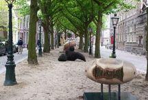 Beelden in Leiden