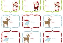Christmas printables / by gayla aitken
