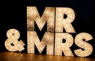 How Many Words Can You Make / With individual marquee letters you can have any words that you want!