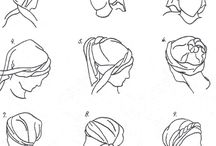 Head wraps for chemo hair loss / Stylish head wraps/scarves