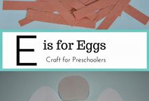 Letter E Preschool Activities