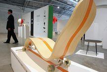 """EXPOSITIONS / Sélectionné pour plusieurs expositions dont """"la Biennale Internationale de Design de St Etienne"""" (2002/04/06) ou encore pour """"the International Festival Design of Moscow / Design Act"""" (2009/10) organisé par le ministère de l'industrie de Russie au centre d'Art contemporain de  Moscou."""