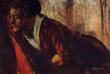 Painting. Edgar Degas