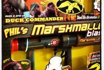 Duck Commander & Marshmallow Shooters