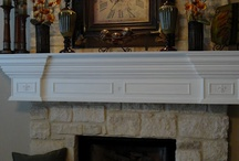 home - mantel / by Jessica Clayton