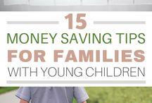 Family finances + Money saving tips / Money saving tips for families