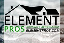Element Pros  / Element Professional | Roofing & Renovations for Home Owners. Shingle Colors, Roof Color, Siding Color, New Roof