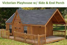 Playhouses / Playhouse fun and design tips