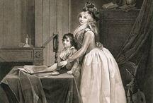 1750-1799 - Rococo to Revolution in fashion - Art / by Leimomi Oakes