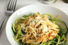 Spiralized / Healthy recipes using a vegetable spiralizer