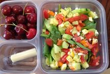 Healthy Lunch Ideas / by Amber Delozier