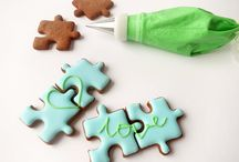 Royal icing cookies / Hand made, natural, iced cookies. Simply sweet.