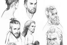 Men drawing ref