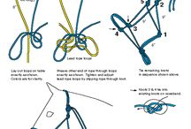 Making reins and halters