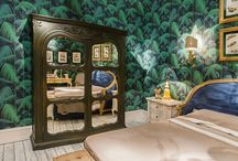 Events - Maison&Objet Paris 2014 / We attended Maison&Objet Paris 2014 within a stand recalling classical mansion where flower patterns and refined wallpapers were the frame of new settings.