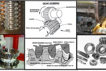 Hobbing Gear Hobbing Machines / Dynemech antivibration mounts protect all passive and active vibration damping in hobbing machine applicatons.