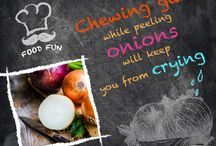Food Fun Facts / Some great tips and tricks on different food items