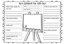 self evaluation for art