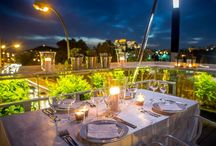 Rooftops restaurant in Athens