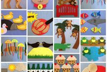 Felt Board Pattern eBooks / Pattern Book, Individual Patterns for felt board and flannel board sets. Felt Board Magic