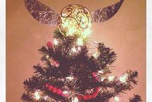 Harry Potter Christmas Trees
