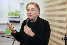 Alberto Lievore en Espacio Aretha / Visita de Alberto Lievore a Espacio Aretha para la presentación de sus últimos diseños para la firma italiana Tecno.