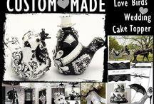 Wedding Cake Topper / by madamepOmm BYK