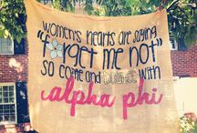 Alpha Phi Everything / by Nicole Sophia-faker