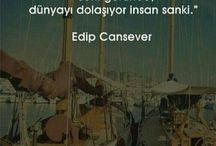 Edip Cansever....
