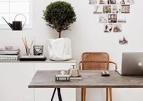 home office + study rooms / ideas for my new study, at least the one in my head. / by Anna Hart / South Molton St Style
